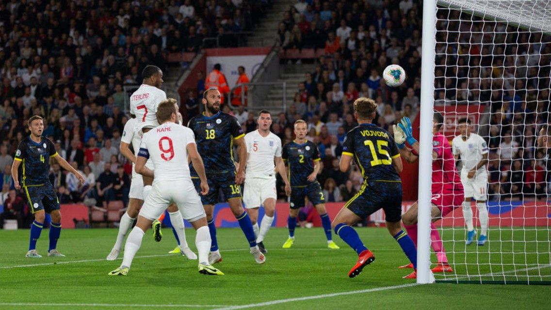 Internationals: Sterling dazzles in England win