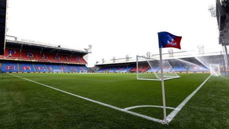 Crystal Palace v City: Sold Out
