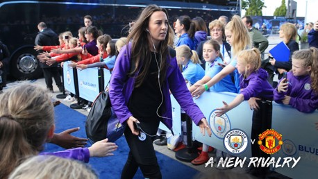 GOAL: Weir discusses her super strike in the Manchester derby