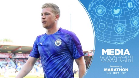 De Bruyne leads the way plus Houghton's target