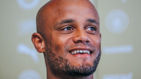 TESTIMONIAL: Kompany has spoken to the media ahead of his Tachle4Manchester benefit match last night