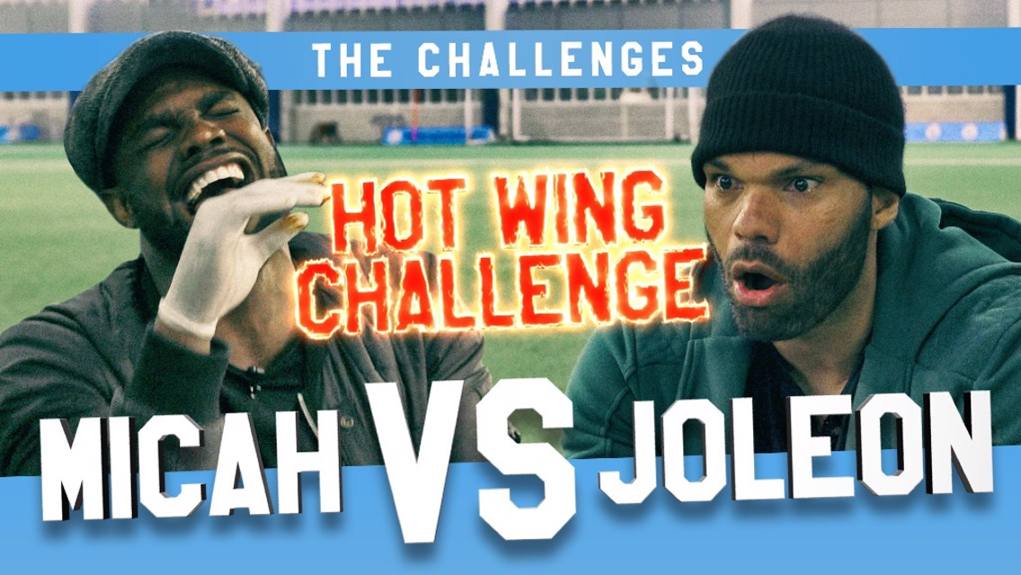 Richards v Lescott: Hot wing challenge