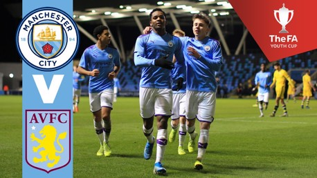 Watch FA Youth Cup fourth round on Man City for TV