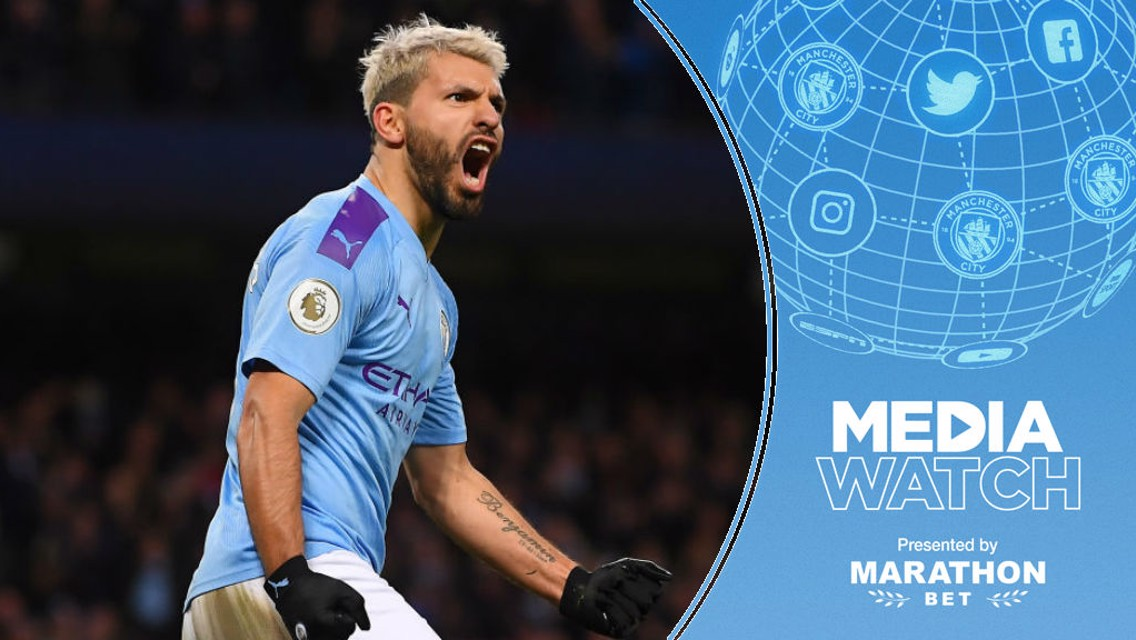 Media Watch: Aguero 'the PL's best-ever striker'