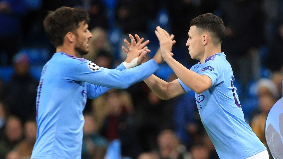 Silva on Foden: 'We are in good hands '