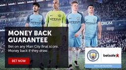 Betsafe Man City Promo