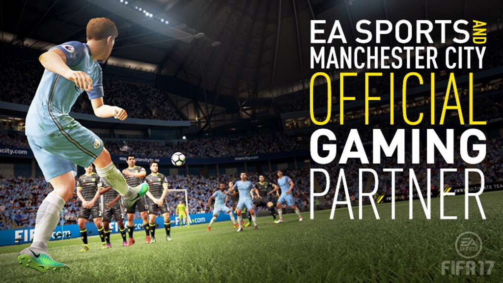 RESIGNED: EA SPORTS remain City's Official Gaming Partner
