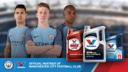 KEEP MOVING: Valvoline is City's new Official Automotive Lubricants Partner.