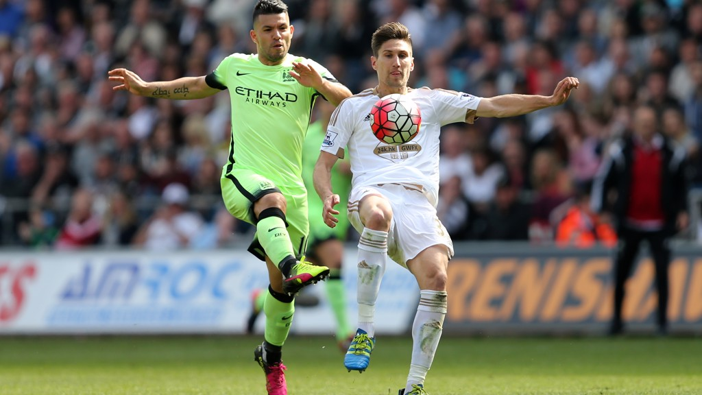 Swansea v City: Brief highlights