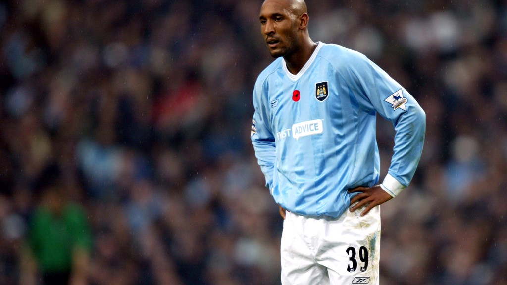 ANELKA: The French striker played for City between 2002 and 2005.