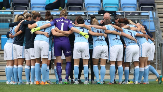 MCWFC team in huddle