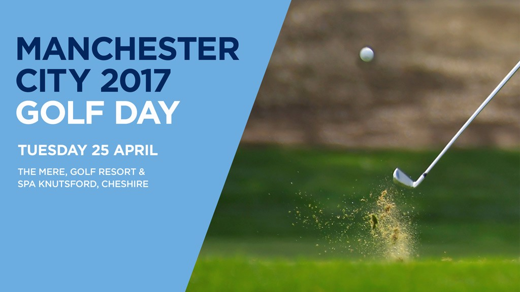 GOLF DAY: Play 18 holes with City legends.