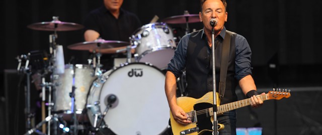 Bruce Springsteen at the Etihad Stadium