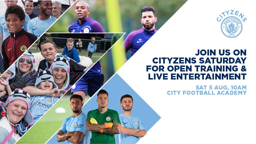 FAN EVENT: Join us for Cityzens Saturday.
