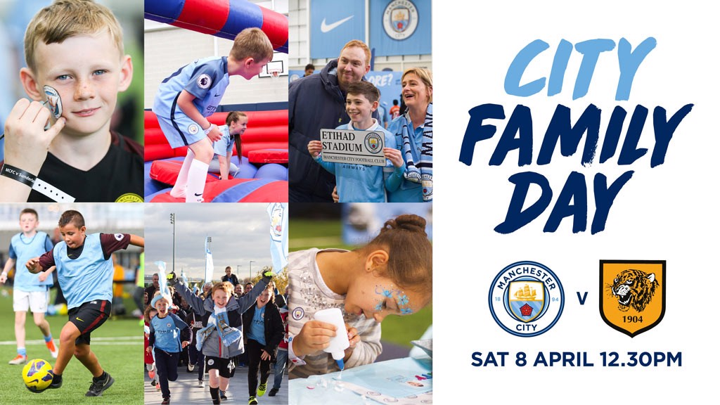 FAMILY FUN: Join us before City take on Hull.