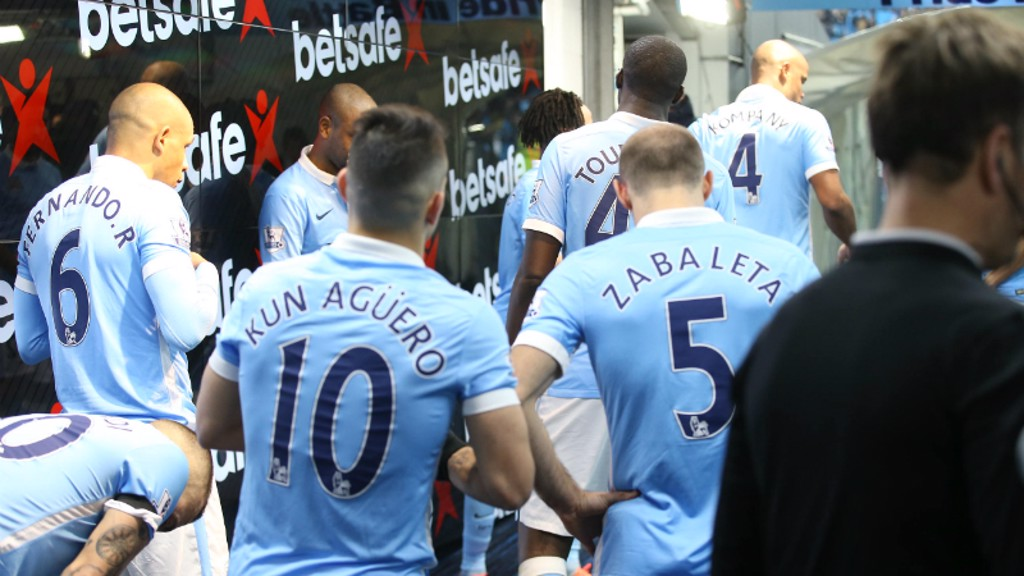City v Spurs: Tunnel Cam