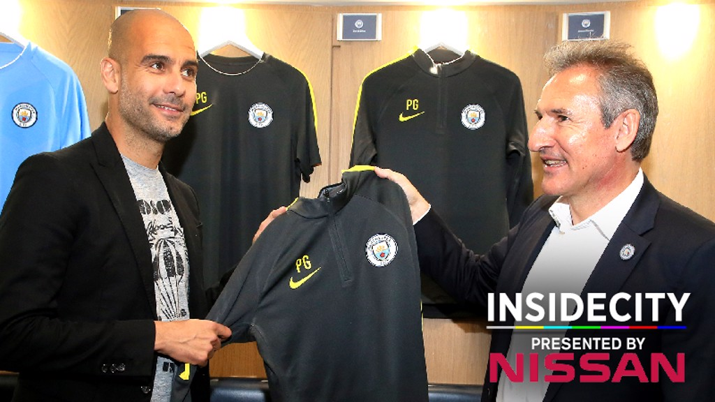 Inside City: Pep's first day