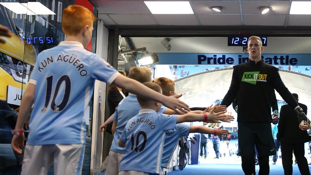 City v Stoke: Tunnel Cam