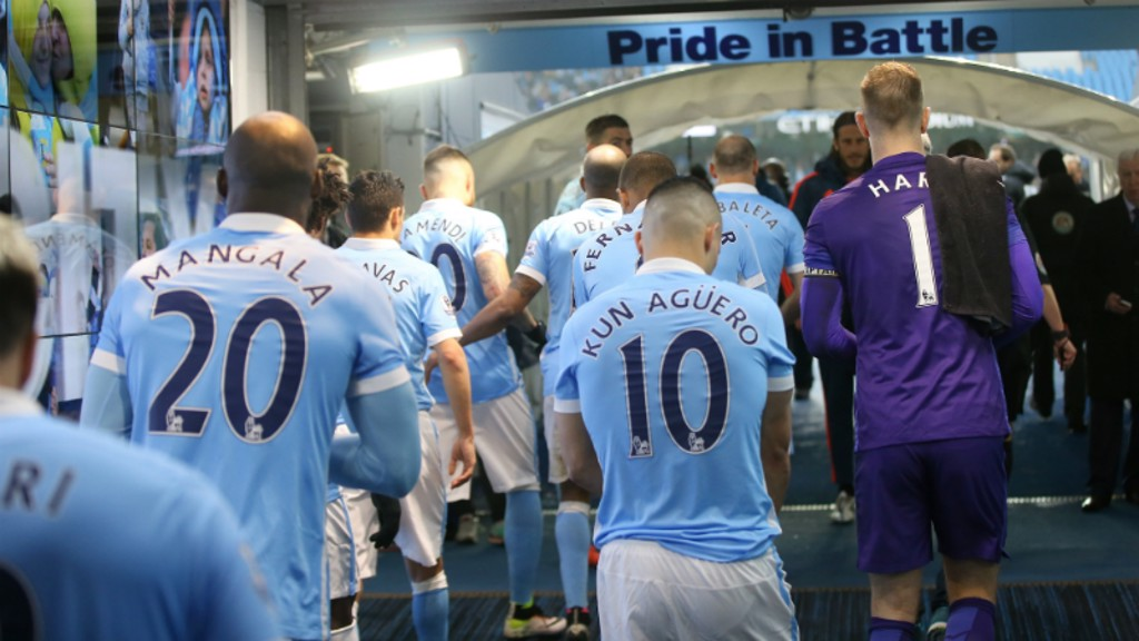 City v West Brom: Tunnel Cam