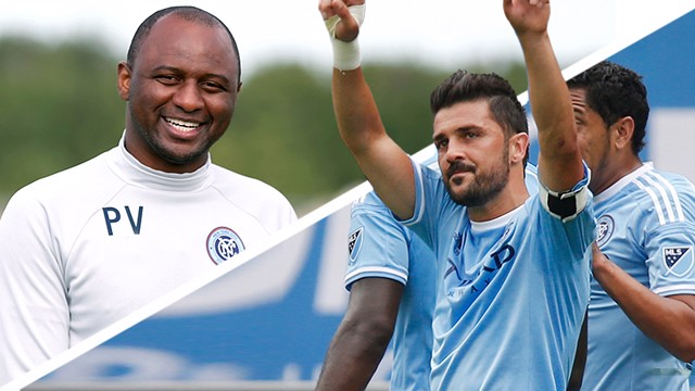 VILLA AND VIEIRA: NYCFC men on Pep