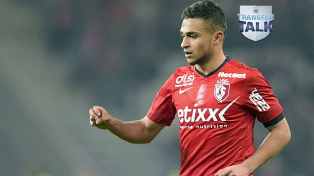 Alleged Manchester City target Sofiane Boufal in action