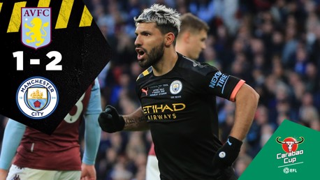 Aston Villa 1-2 City: Full match replay