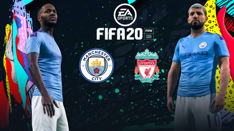 City v Liverpool: Take on the EA SPORTS FIFA 20 challenge!