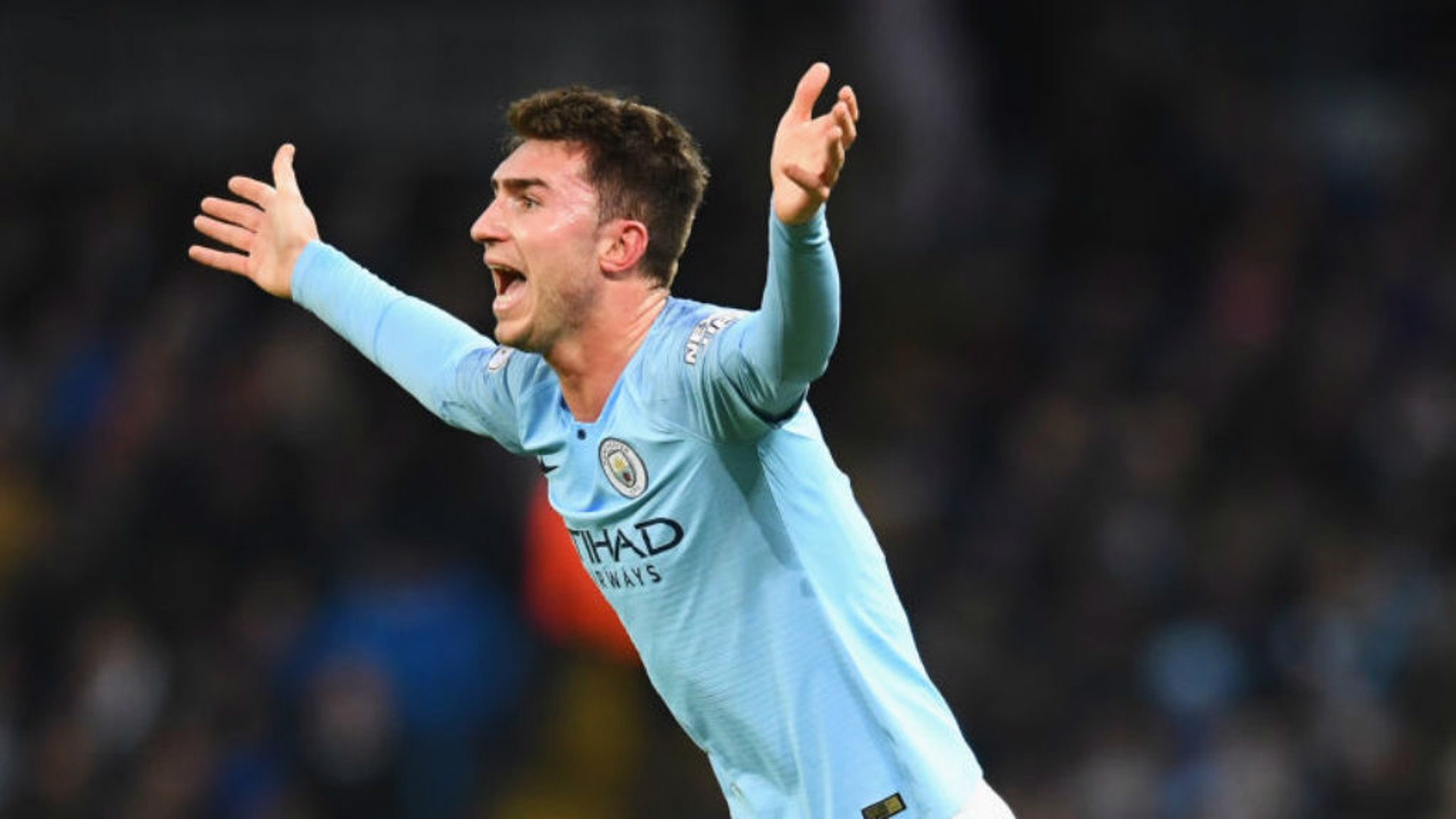ALL SQUARE: Aymeric Laporte vents frustration after equaliser.