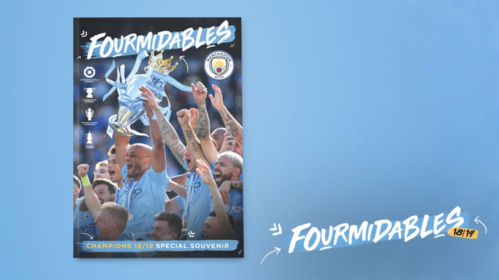 FOURMIDABLES: Champions magazine now on sale!