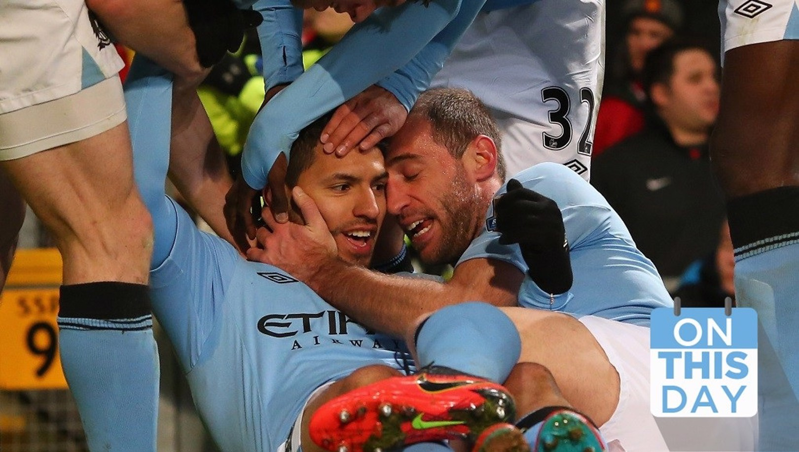On this day: Aguero stunner settles Old Trafford derby