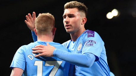 Laporte expresses his delight at Etihad return