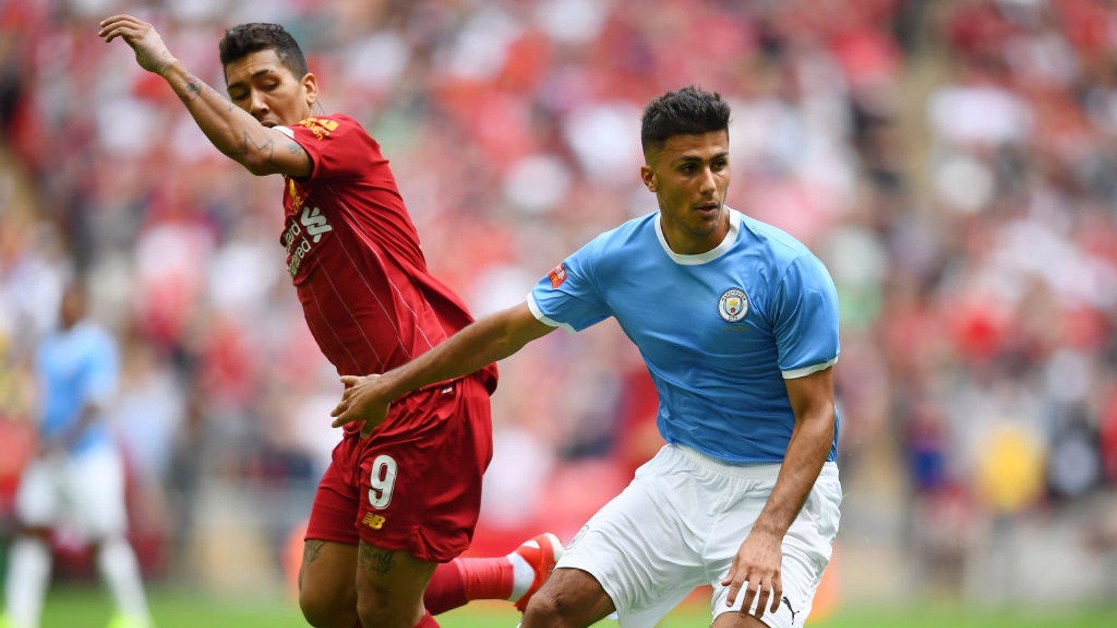 NEW KID ON THE BLOCK: Rodri occupying the base of City's midfield.