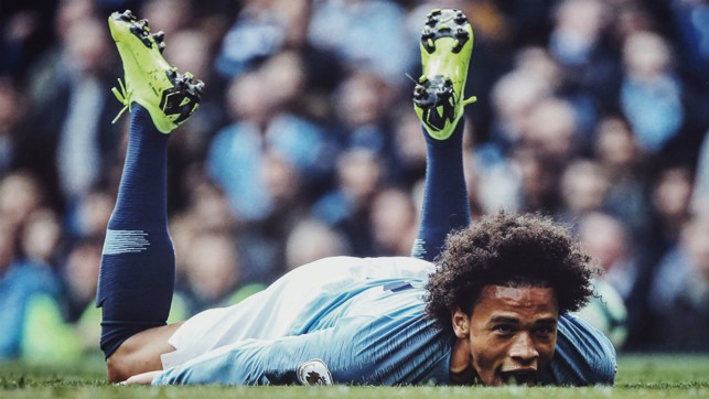 FLAT OUT : Leroy Sane.