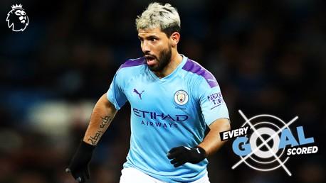 Sergio Agüero: Todos os gols na Premier League