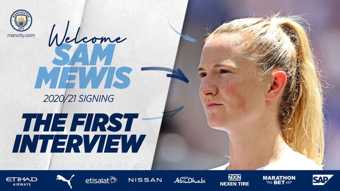 Mewis: Watching 'All or Nothing', I knew City was the place to be!
