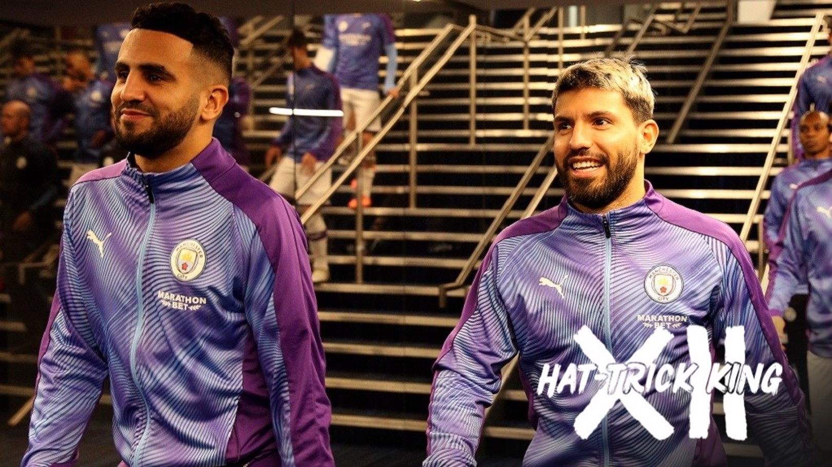 'Aguero is a legend' says Mahrez