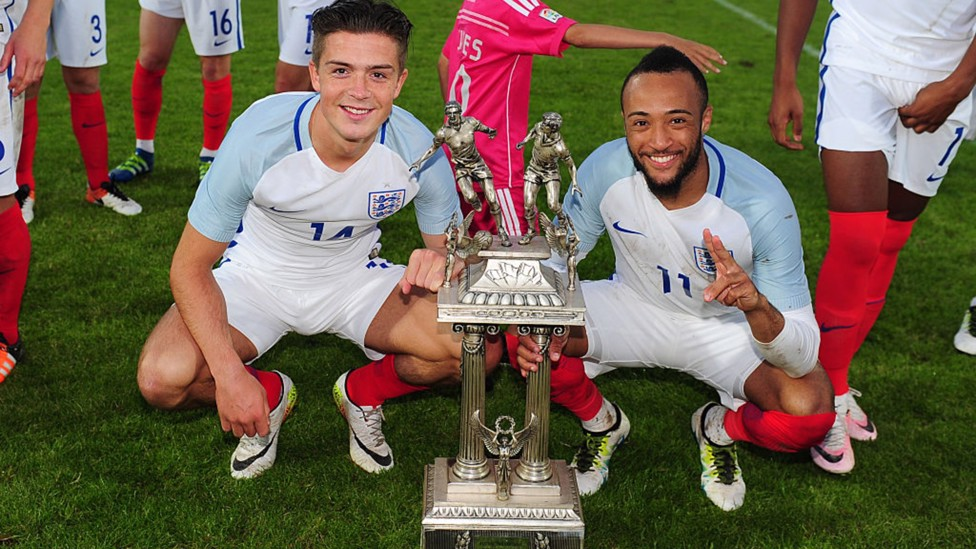 TOULON TRIUMPH: Grealish helped England's Under-21s to victory at the 2016 Toulon Tournament