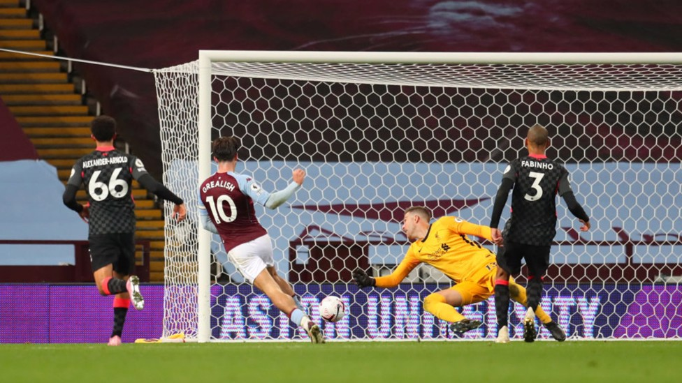SEVENTH HEAVEN: Jack grabs two goals and two assists as Villa beat reigning Premier League champions Liverpool 7-2 in October 2020