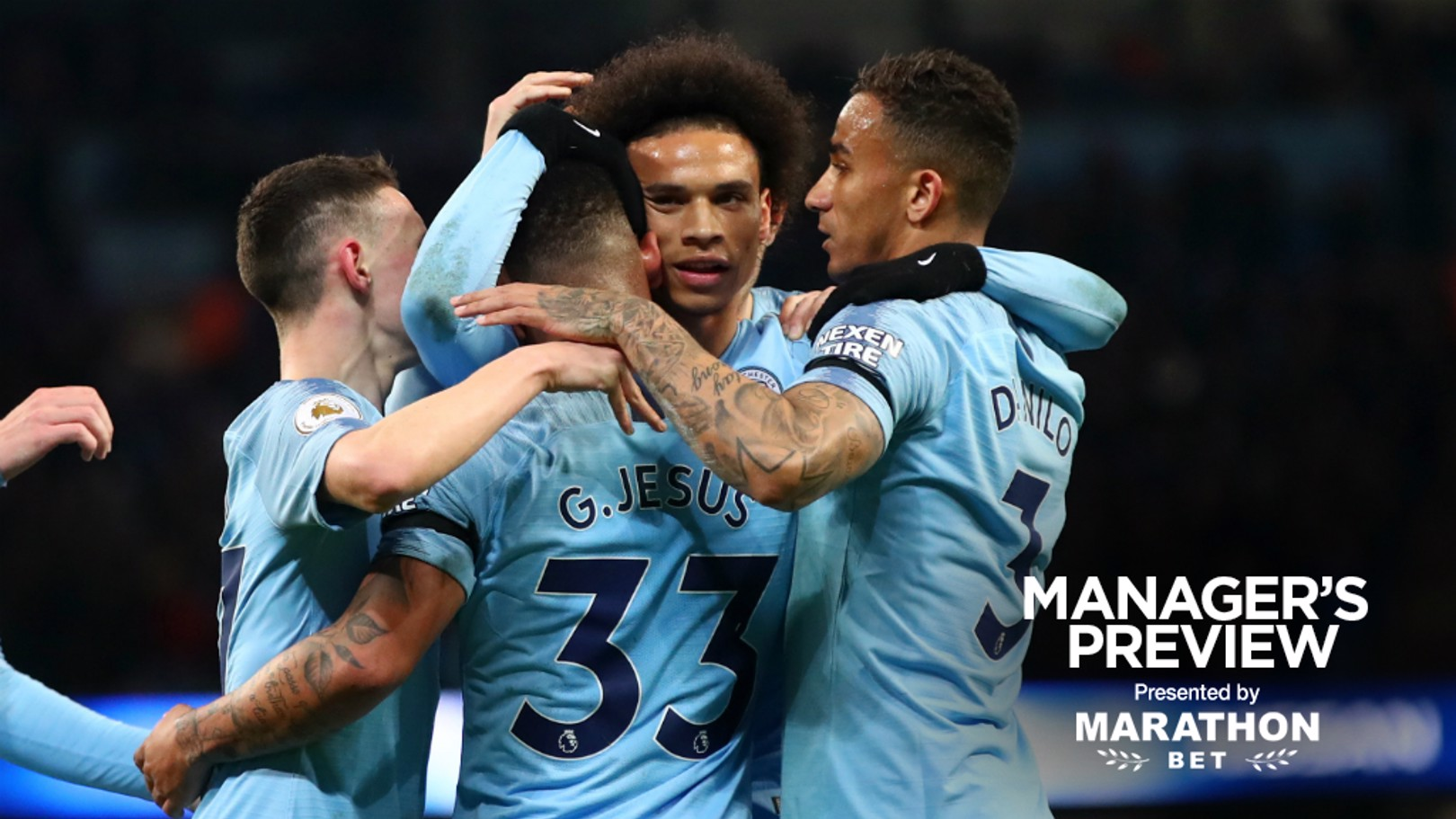 ADMIRATION: Pep Guardiola asserted Leroy Sane is important to his plans, as City continue the hunt for unprecedented success.