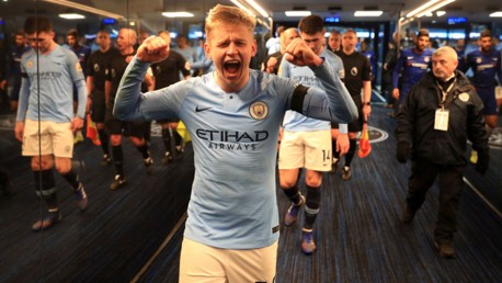 INTERVIEW: A word from Zinchenko...