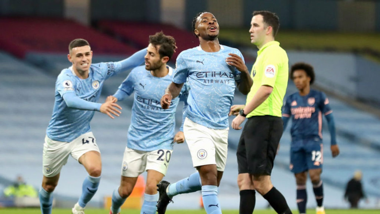 Skipper Sterling fires City to victory
