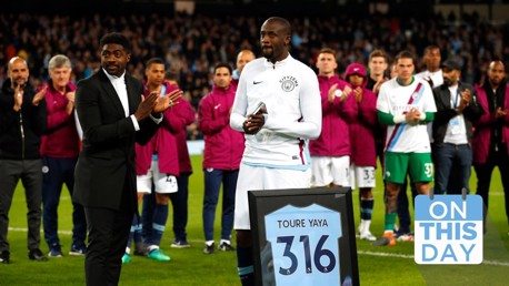 On This Day: Perpisahan Yaya Toure