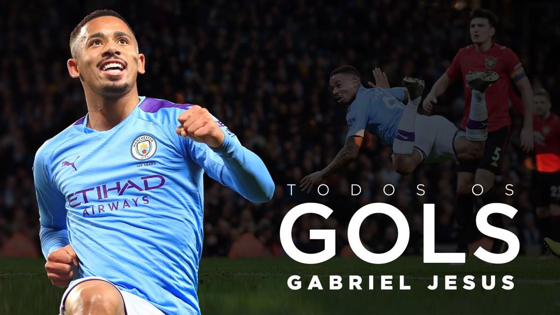Todos os gols: Gabriel Jesus