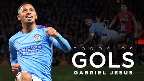 Gabriel Jesus todos os gols