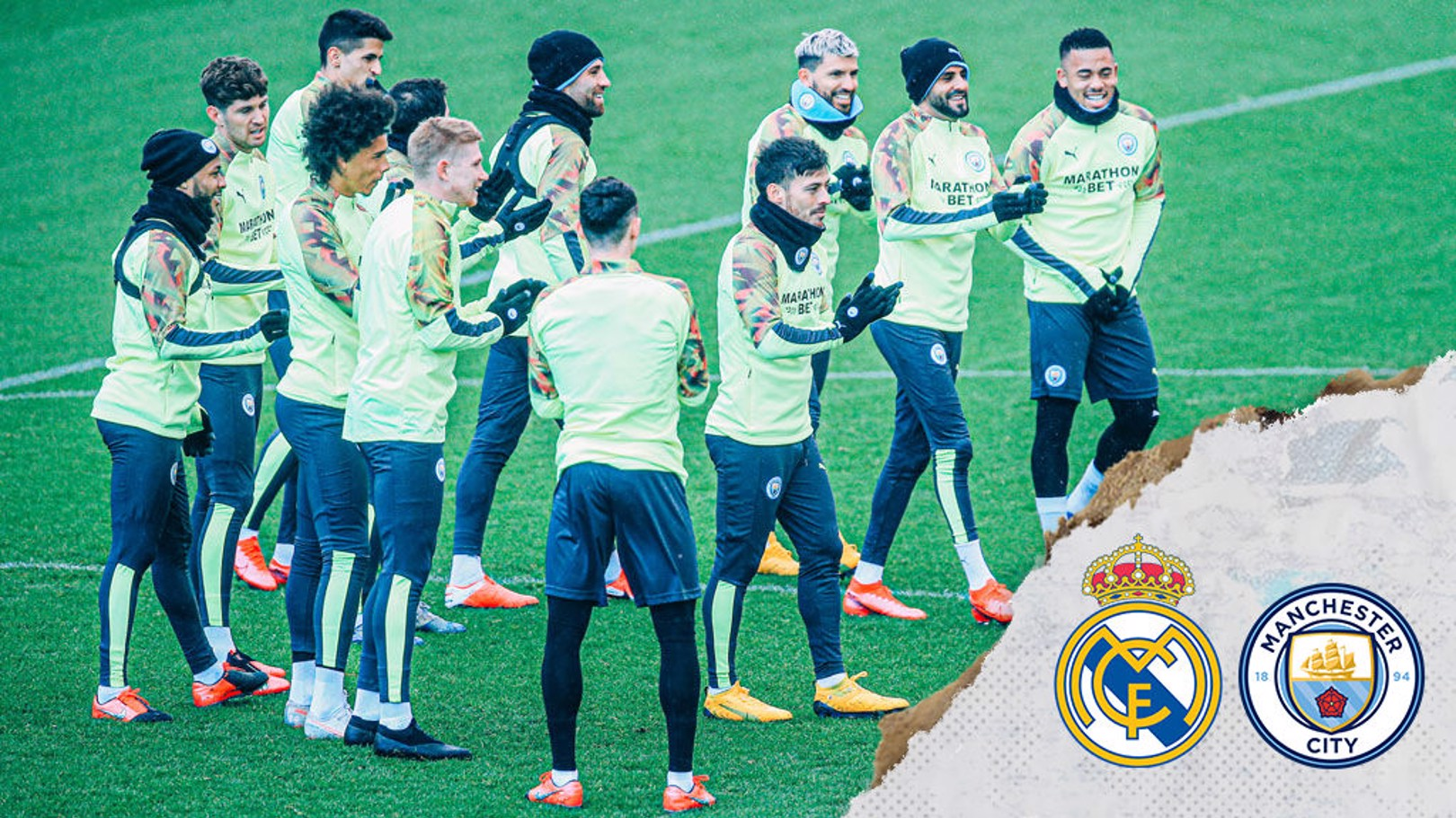 Real Madrid v City: Travelling Squad confirmed