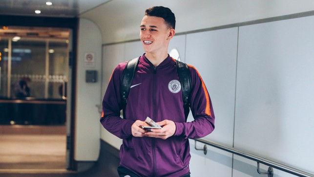 BUOYANT BLUE : Will Phil Foden add to his match minutes - or perhaps goal tally?