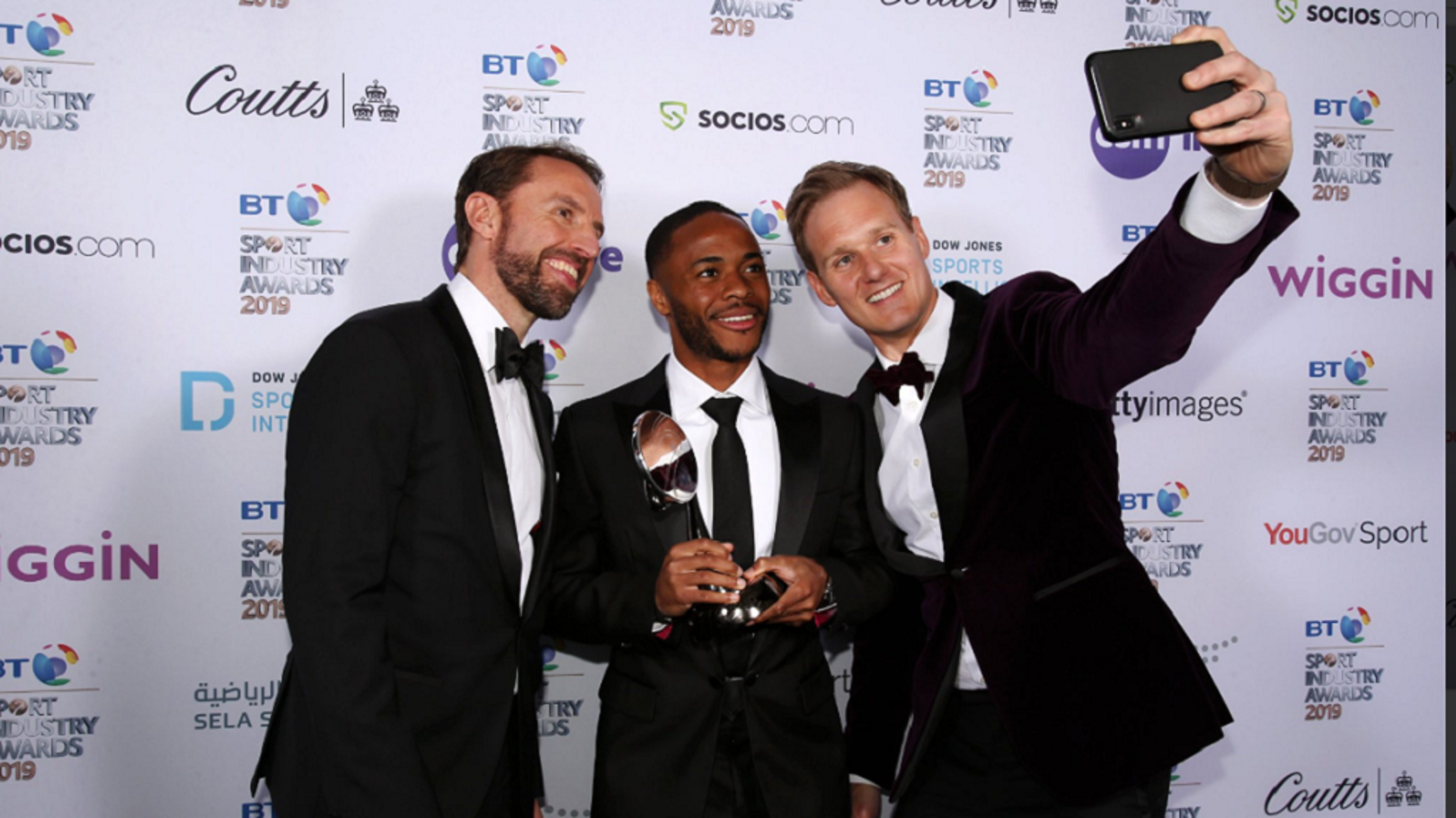 Raheem Sterling wins prestigious accolade