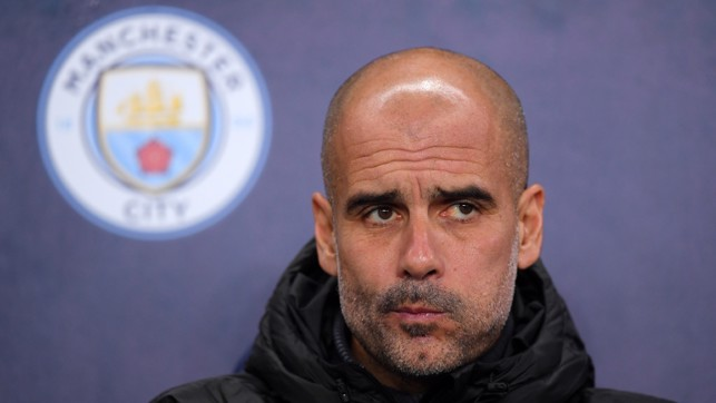 MANAGER'S NOTES : Pep Guardiola watches on