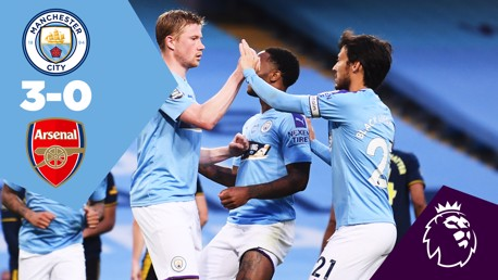 Full Match Replay: City 3-0 Arsenal