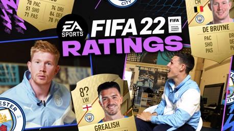 De Bruyne Dan Foden Saling Menebak peringkat FIFA 22